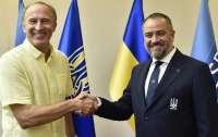 Сборную Украины по футболу возглавил чемпион мира