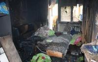 Смертельный пожар в Черкассах: погибли дети