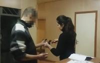 Полиция Одессы задержала мужчину со взрывчаткой (видео)