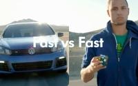 Volkswagen Golf против Кубика Рубика (ВИДЕО)