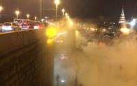 Странное облако возле Кремля напугало москвичей (ФОТО)