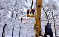 112 населенных пунктов Украины до сих пор без электричества