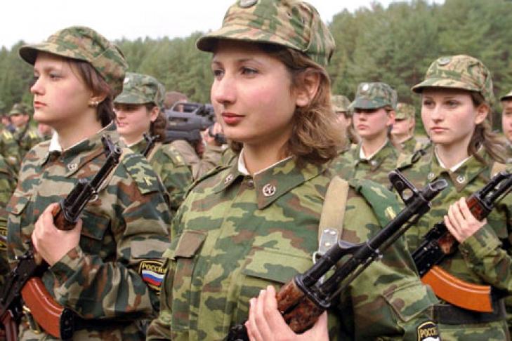 как поступить девушке на военную службу по контракту раскрытия