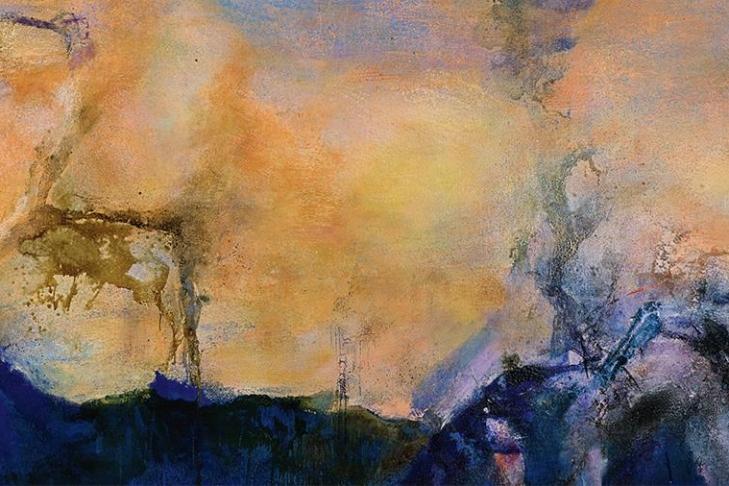 Картину художника Чжао Уцзи продали зарекордные 65 млн долларов