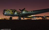 Раритетный бомбардировщик разбился в США