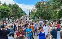 Россияне протестуют из-за своего губернатора