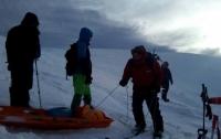 Нашли тело туриста, погибшего в снежных Карпатах