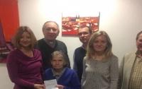Немецкая украинка в 93 года получила первый паспорт