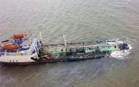 На Дунае в 130 км от украинской границы утонула баржа с минудобрениями