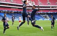 ПСЖ стал первым финалистом Лиги чемпионов