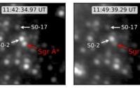 В центре нашей галактики вспыхнула черная дыра