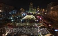В новогоднюю ночь в центре Киева устроят масштабный концерт