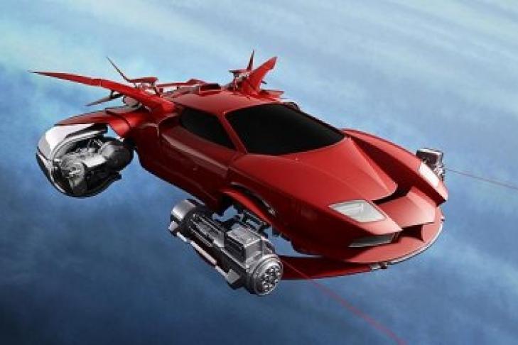 1-ый летающий автомобиль появится в 2018г