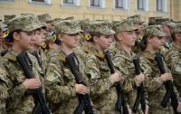 В Украине девушкам разрешили поступать в военные лицеи