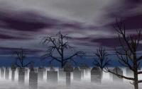 Первоклассницы устроили дебош на кладбище