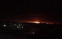 Взрывы в Черниговской области: горят военные склады