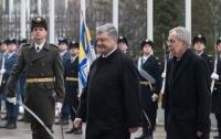 Порошенко встретился с президентом Австрии