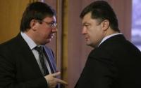 Луценко уходит от Порошенко