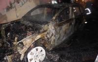 На Волыни сожгли авто бизнесмена