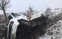 В Закарпатской области перевернулся автобус с 18 пассажирами