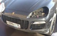 Пять лет тюрьмы: в Киеве мужчина пытался украсть фары с Porshe