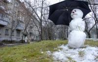 Зима ожидается аномально теплой