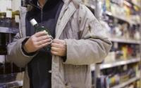 Школьник украл из супермаркета дорогой алкоголь