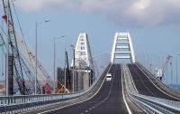 На Крымском мосту случилось первое ДТП