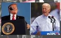 Байден опережает Трампа на 16% – опрос CNN