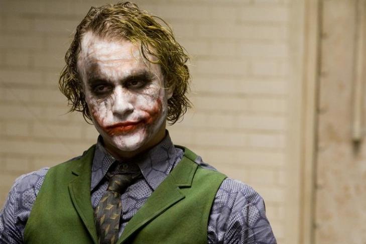 Джокер занял 3 места вТОП-10 основных суперзлодеев вистории кино