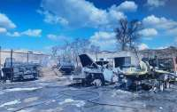 Появились подробности пожара в Рубежном