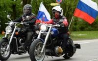 Российские байкеры хотели прорваться в Украину: пограничники не впустили