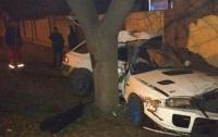 Смертельное ДТП в Одессе: водитель погиб, врезавшись в дерево