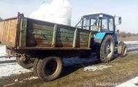 Отец случайно переехал сына трактором