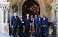 Жена президента порадовала новым нарядом (фото)