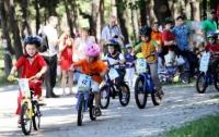 Сегодня в столичном парке пройдет детская велогонка