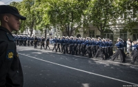 Оккупант опозорился на параде в Севастополе (видео)