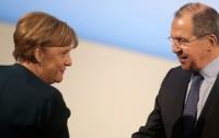 Меркель встретилась с Лавровым: о чем говорили