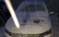В Киеве на автомобили российских дипломатов нанесли трезубцы (ФОТО)