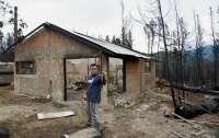 Лесные пожары в Аргентине уничтожили сотни домов