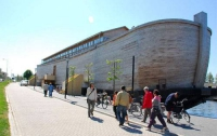 Рядом с Амстердамом энтузиаст строит Ноев ковчег в «натуральную величину»