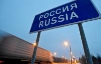 Россия ограничила движение грузовиков через границу