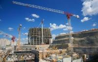 В Украине существенно выросли объемы строительства