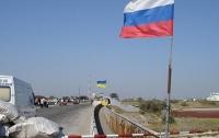 Водители застряли в очереди перед Крымом (видео)