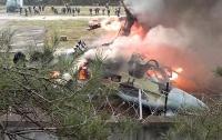 В Черногории рухнул военный вертолет