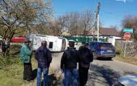 ДТП в Полтаве: столкнулись авто медиков и микроавтобус