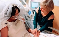 Американка вышла замуж за несколько часов до смерти