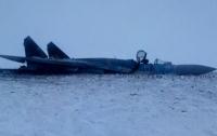 Появились фото с места крушения Су-27 на Житомирщине