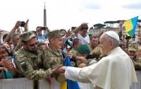 Папа Римский принял украинских паломников (видео)