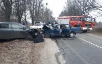 Масштабное ДТП в Черкасской области: шесть пострадавших